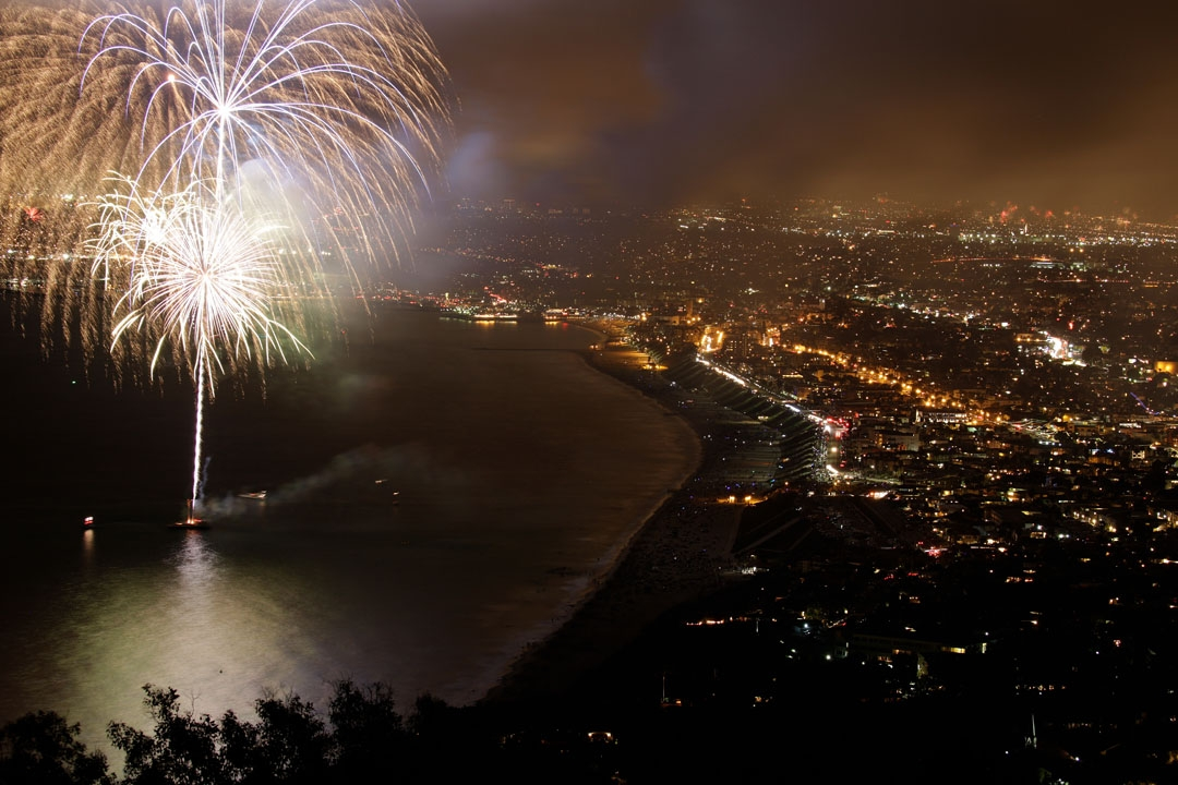 Happy 4th of July to the Hollywood Riviera – A Decade and a Half of Amazing Fireworks off Torrance Beach