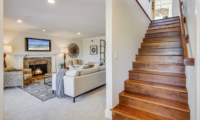 family room & stairs