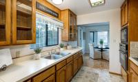 kitchen sink to din room